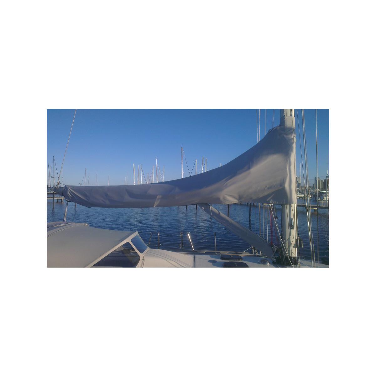 12zeemijlen zeilhuik grijs - lengte 4,45m