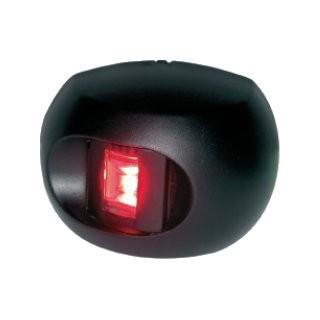 Aqua Signal serie 34 bakboordlicht LED - zwarte behuizing