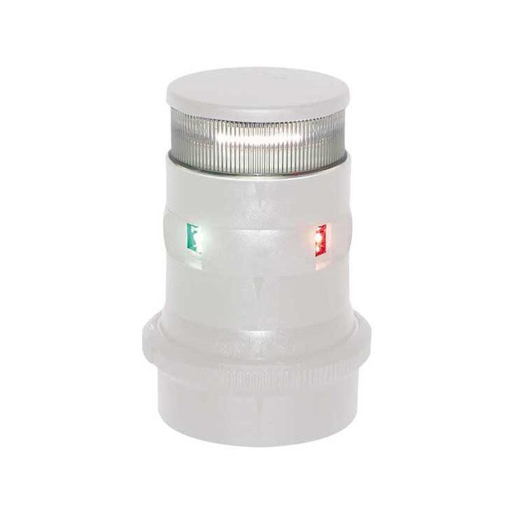 Aqua Signal serie 34 navigatieverlichting/ankerlicht LED driekleur - witte behuizing
