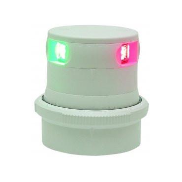 Aqua Signal serie 34 navigatieverlichting LED driekleur - witte behuizing