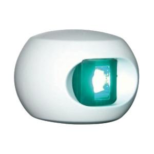 Aqua Signal serie 34 stuurboordlicht LED - witte behuizing