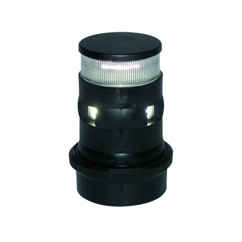 Aqua Signal serie 34 ankerlicht LED toplicht - zwarte behuizing