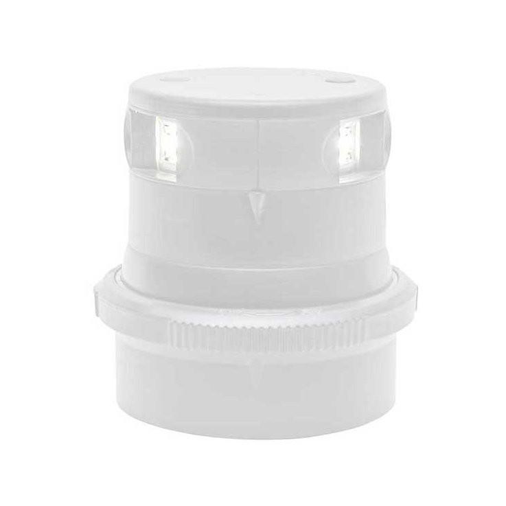 Aqua Signal serie 34 LED toplicht - witte behuizing