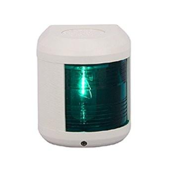 Aqua Signal serie 41 stuurboordlicht - 12V, witte behuizing
