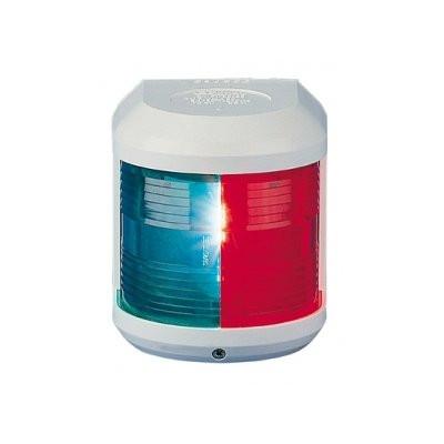 Aqua Signal serie 41 navigatieverlichting tweekleur - 12V, witte behuizing