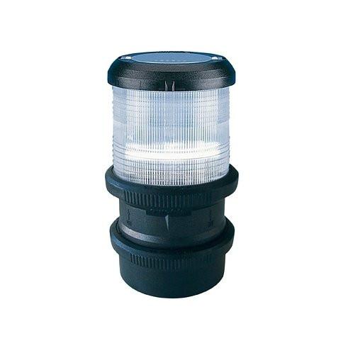 Aqua Signal serie 40 navigatieverlichting driekleur quicfits - zwarte behuizing, 24V