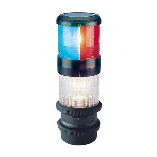 Aqua Signal serie 40 ankerlicht driekleur quicfits - 24V