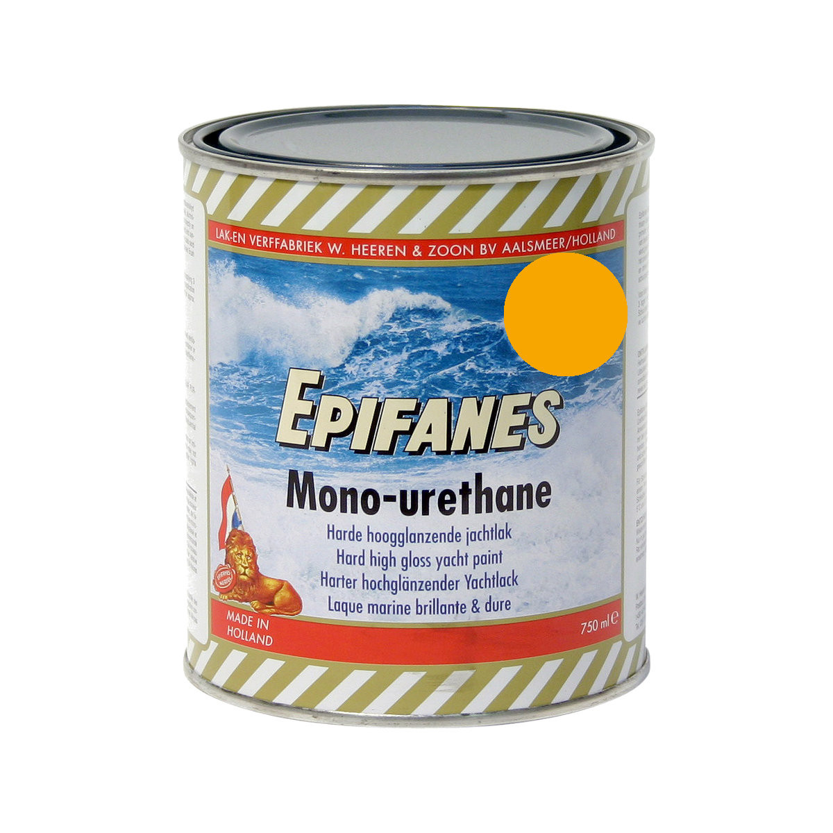 Epifanes mono-urethane jachtlak - geel 3137, 750ml