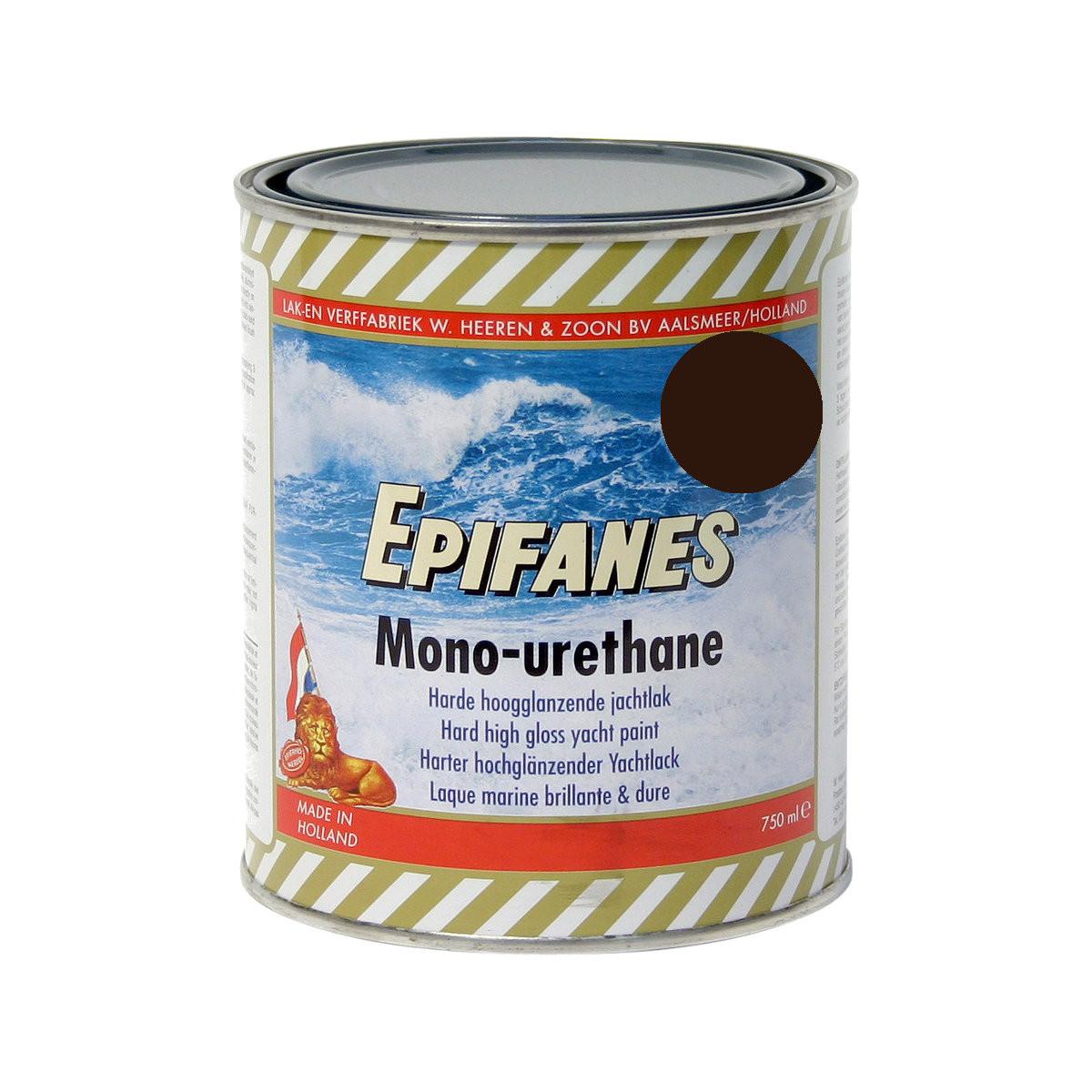 Epifanes mono-urethane jachtlak - zwart 3119, 750ml