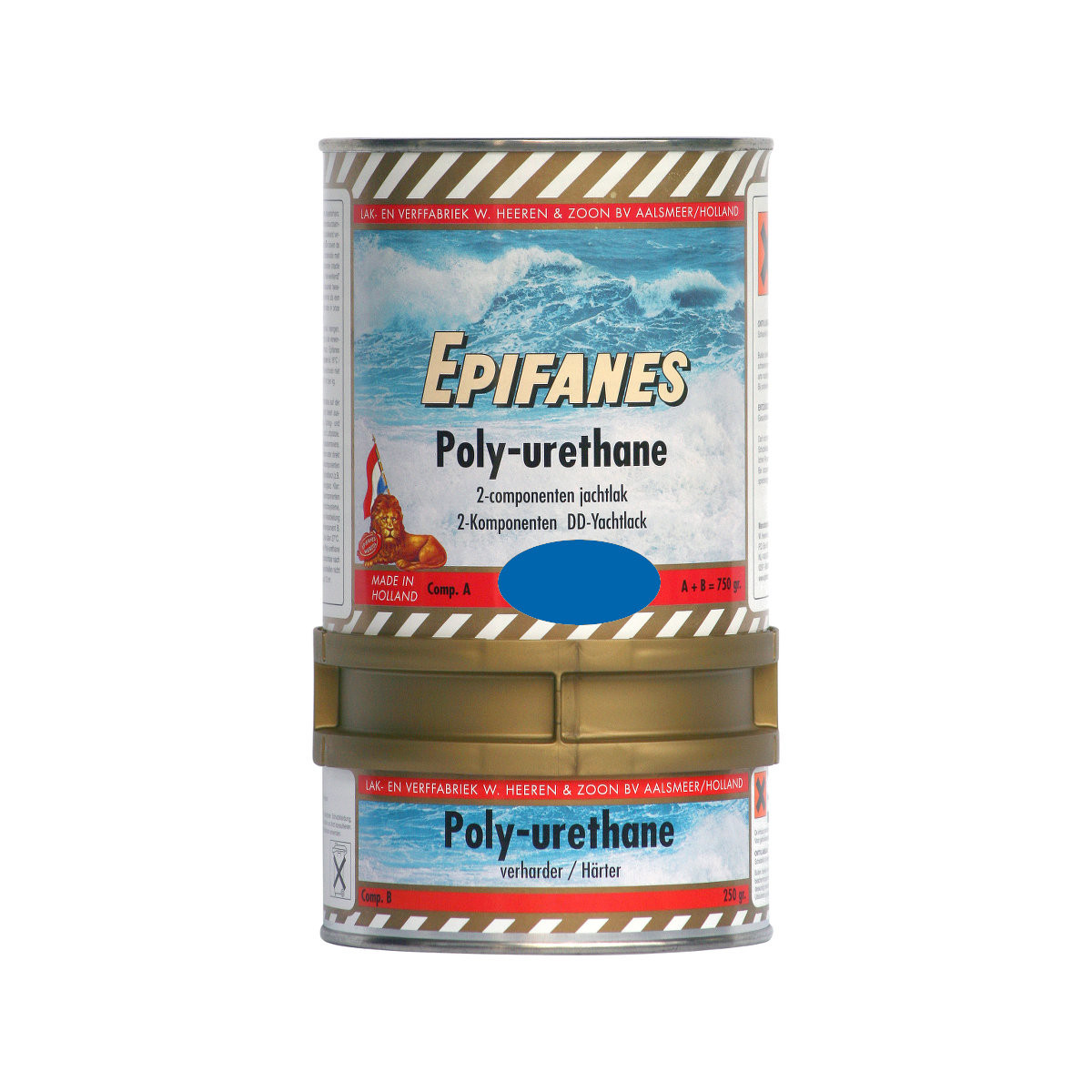 Epifanes poly-urethane DD jachtlak - middenblauw 852, 750g