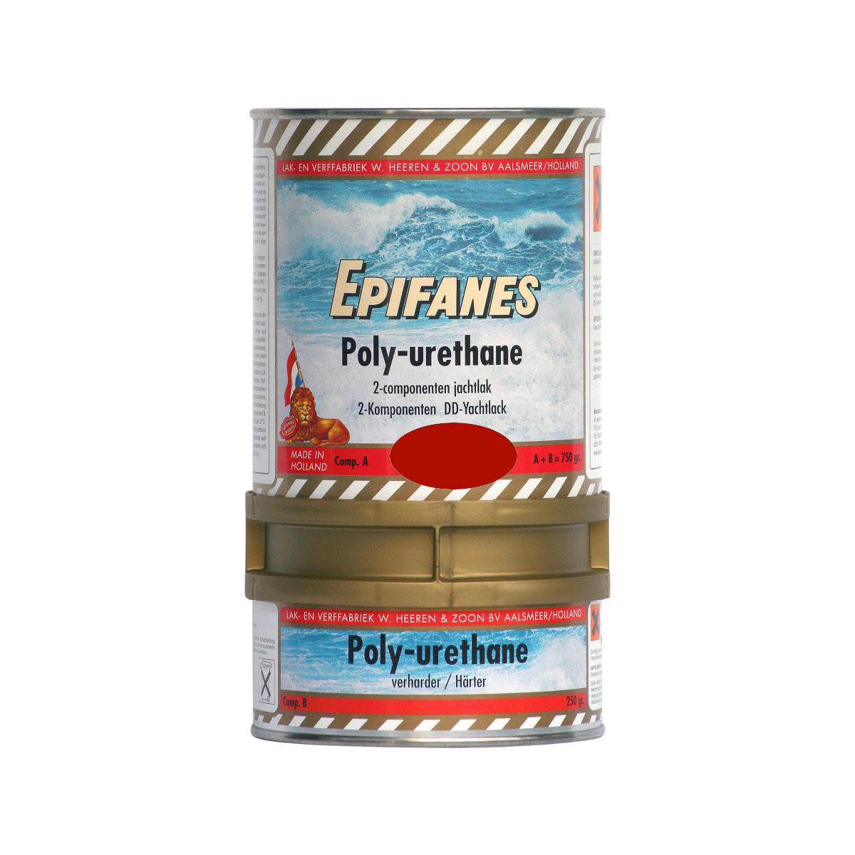 Epifanes poly-urethane DD jachtlak - rood 845, 750g