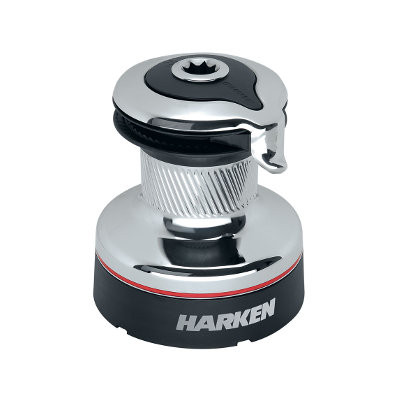 Harken 35ST Radial lier - 2 versnellingen, self-tailing, chroom