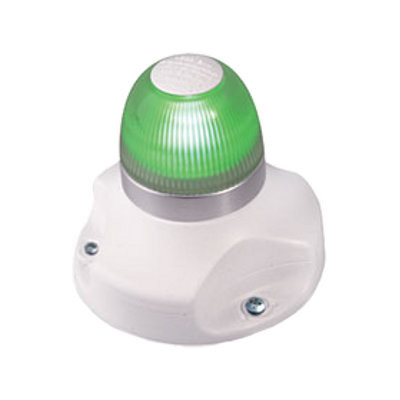 Hella Marine NaviLED 360 signaallicht groen BSH - witte behuizing