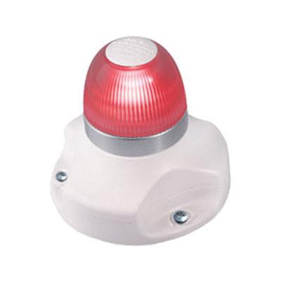 Hella Marine NaviLED 360 signaallicht rood BSH - witte behuizing