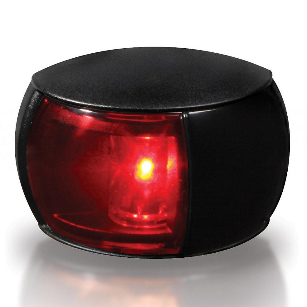 Hella Marine NaviLED Compact bakboordlicht BSH - zwarte behuizing