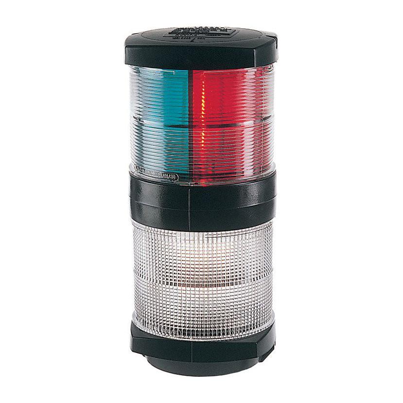 Hella Marine serie 2984 navigatieverlichting driekleur met ankerlicht