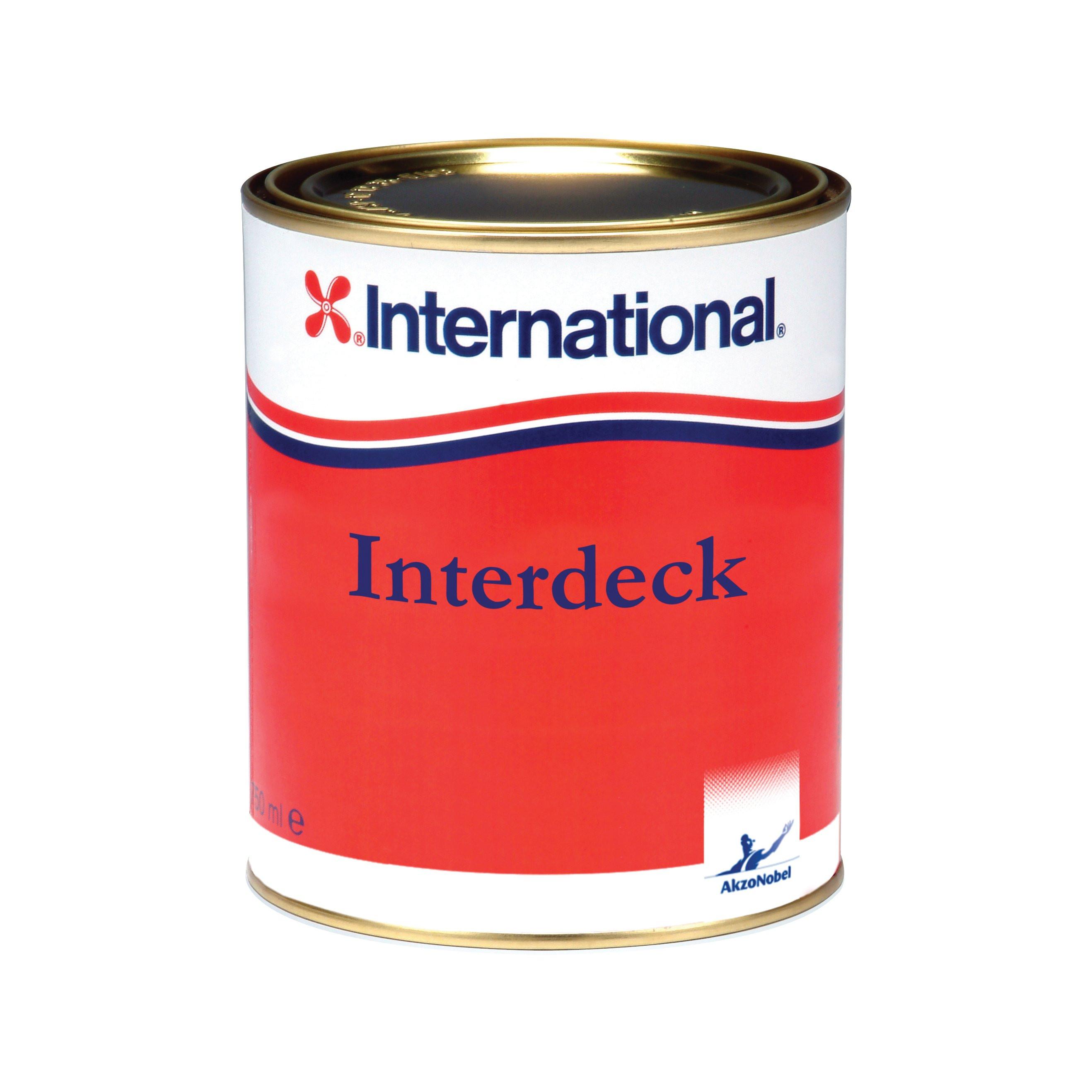 International Interdeck aflak - blauw 923, 750ml