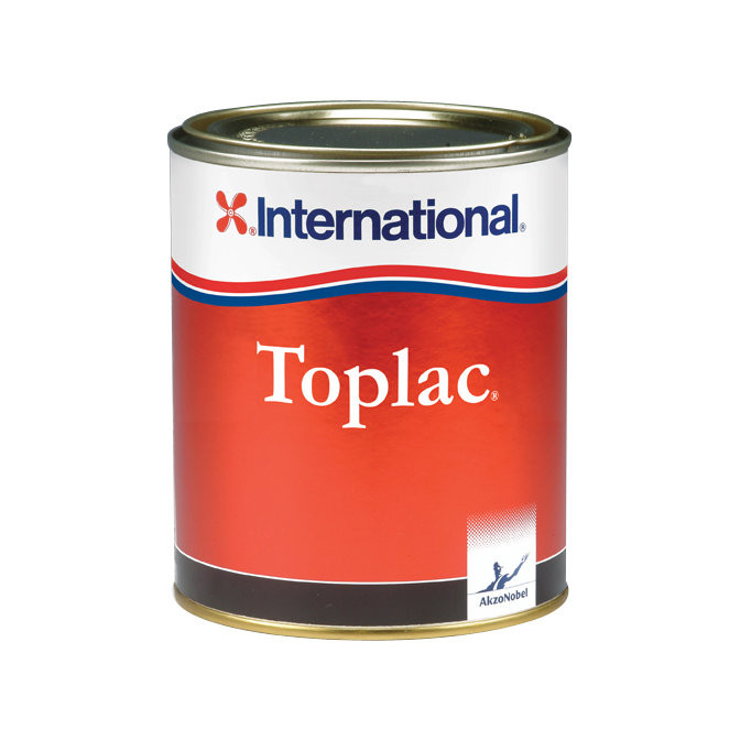 International Toplac aflak - blauw 923, 750ml