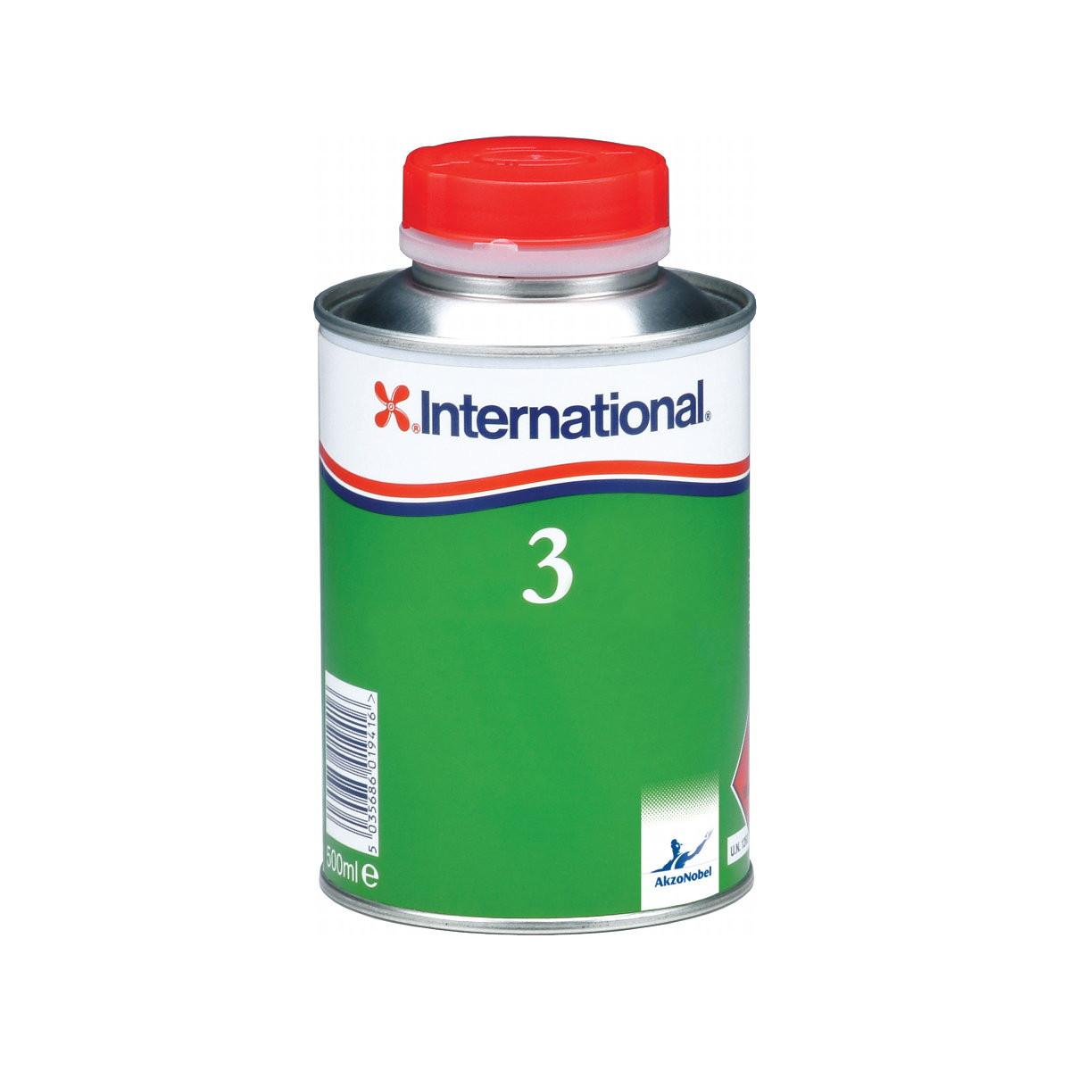 International Thinner verdunning No.3 - 0,5l/500ml