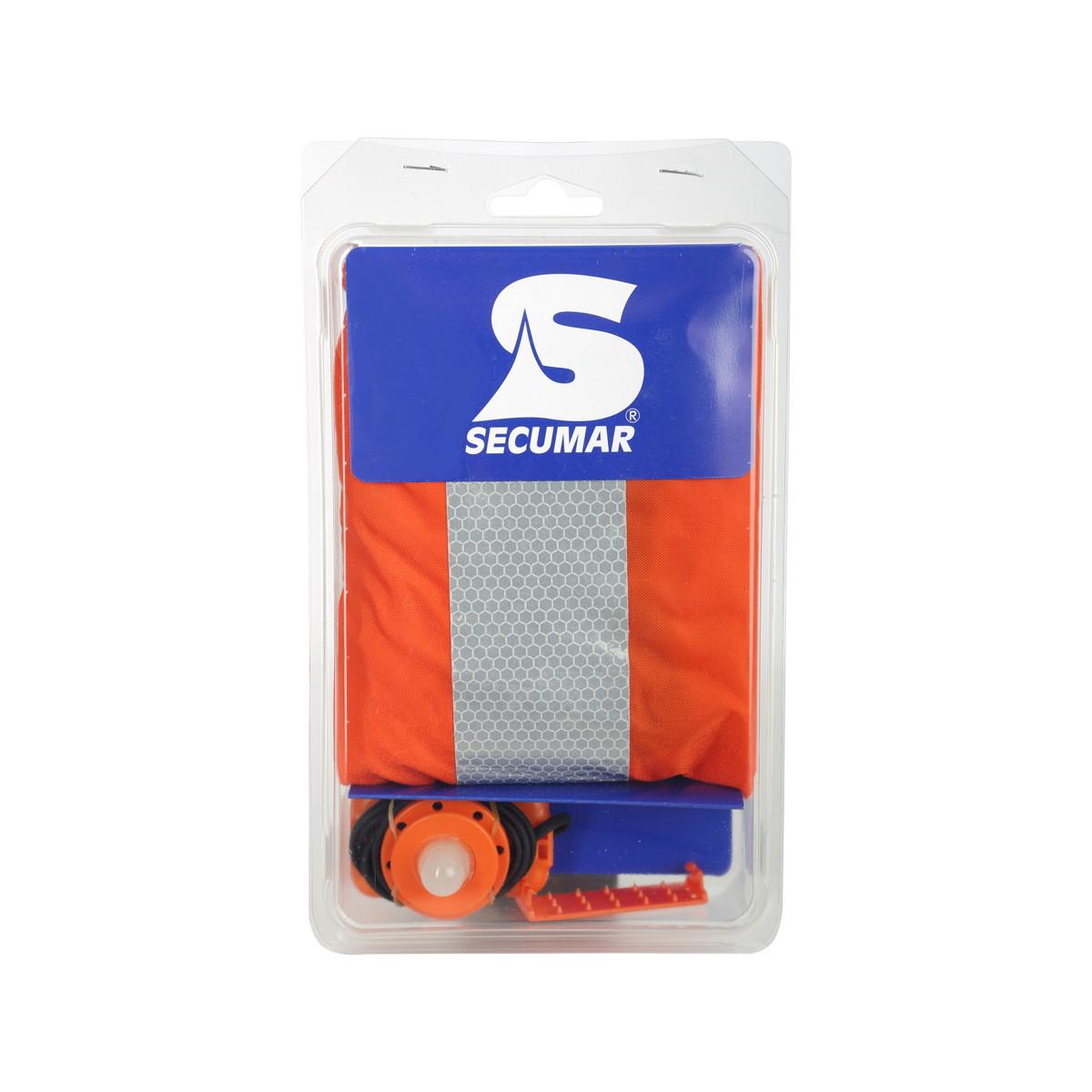 Secumar Ultra 170 Zubehörpaket bestehend aus SOLAS Leuchte und Sprayhood