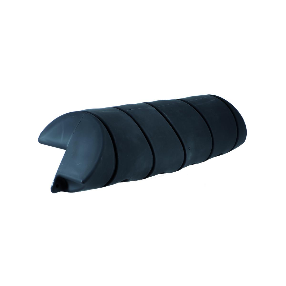 Stegfender Dick, Länge 110cm, Durchmesser 24cm - schwarz
