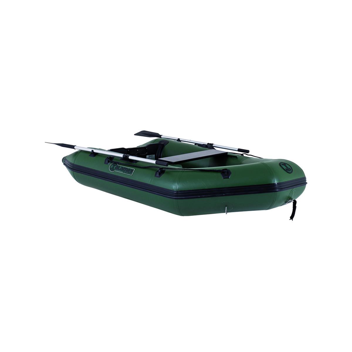Talamex Greenline GLW300 opblaasbare rubberboot met houten bodem, lengte 3,00m, donkergroen