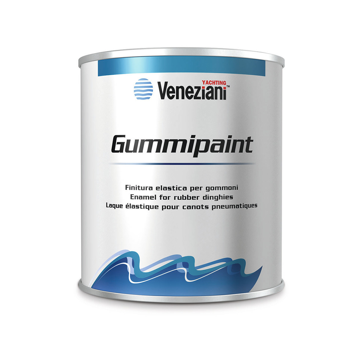 Veneziani Gummipaint lak voor opblaasbare boten - wit 153, 500ml