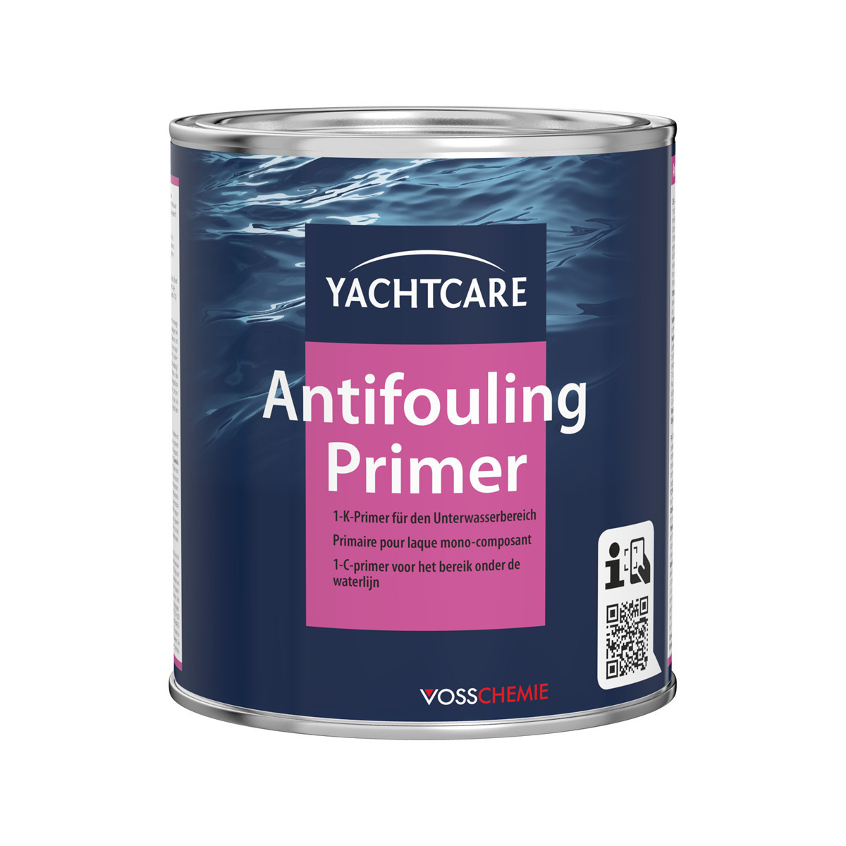 Yachtcare Antifouling Primer - grijs, 750ml