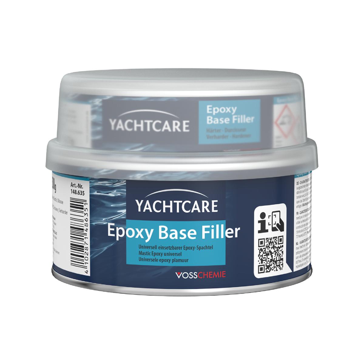 Yachtcare Epoxy Base Filler plamuur lichtgrijs - 2000g