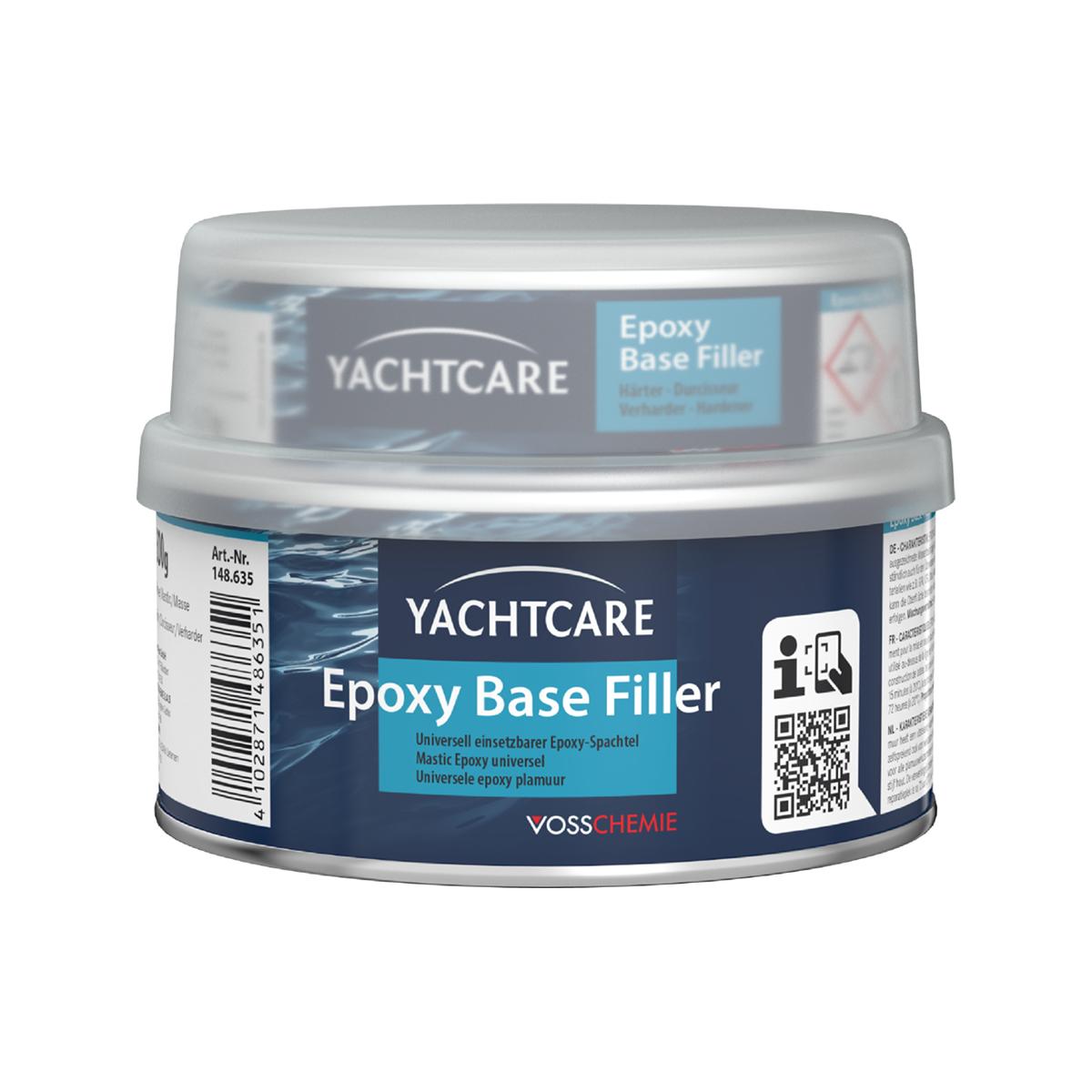 Yachtcare Exposy Base Filter plamuur lichtgrijs - 500g