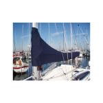 12zeemijlen zeilhuik donkerblauw - lengte 2,30m