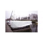 Afdekzeil wit met ogen - 150g, 6x8 meter