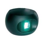 Aqua Signal serie 34 stuurboordlicht LED - zwarte behuizing