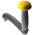 Lewmar One-Touch lierhendel - 200mm, veiligheid, handgreep met knop