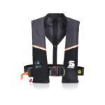 Secumar Ultra 170 Plus automatische reddingsvest met lifebelt 165N, kleur grijs-zwart