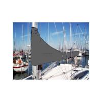 12zeemijlen zeilhuik grijs - lengte 4,15m
