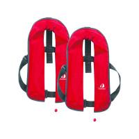 Set van 2: 12skipper automatisch reddingsvest 165N ISO, rood