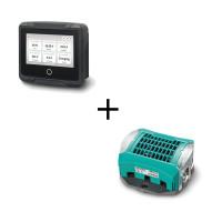 Mastervolt Set: MasterShunt 500 accu monitor + EasyView 5 systeemmonitor