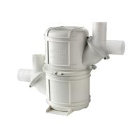 Vetus 2 waterlock voor uitlaagslangen met een binnendiameter van 40-50mm, capaciteit 4,5L