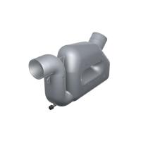 Vetus waterlock voor uitlaagslangen met een binnendiameter van 50-90mm, capaciteit 10,5L