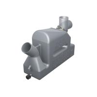 Vetus waterlock voor uitlaagslangen met een binnendiameter van 40-50mm, capaciteit 4,3L