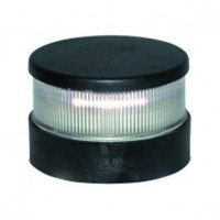 Aqua Signal serie 34 signaallicht rood LED - zwarte behuizing