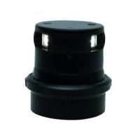 Aqua Signal serie 34 LED toplicht - zwarte behuizing