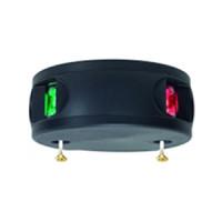 Aqua Signal serie 34 navigatieverlichting LED tweekleur - zwarte behuizing
