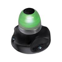 Hella Marine NaviLED 360 signaallicht groen BSH - zwarte behuizing