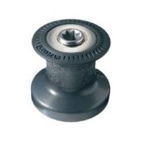Lewmar Standard 6 lier - 1 versnelling, zwart aluminium