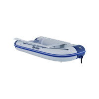 Talamex Comfortline TLX350 opblaasbare rubberboot met aluminium bodem, lengte 3,50m, lengte grijs.