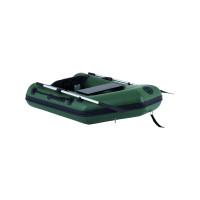 Talamex Greenline GLS160 opblaasbare rubberboot met lattenbodem, lengte 1,60m, donkergroen