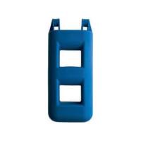 Trapfender - blauw, 2 treden