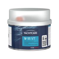 Yachtcare V-11 VT styreenvrije polyester glasvezel-plamuur bruin - 400g